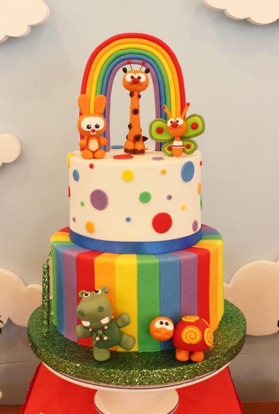 Torta de cumpleanos 1 ano