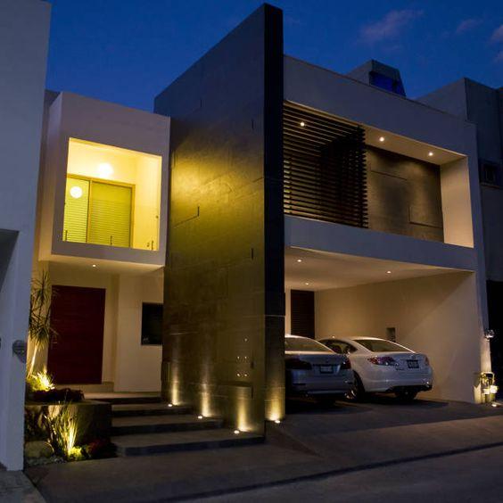 Fachadas de casas im genes ideas y dise os modernos for Casas modernas unifamiliares