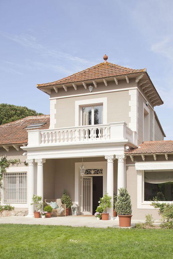 Fachadas de casas im genes ideas y dise os modernos for Que color de fachada elegir