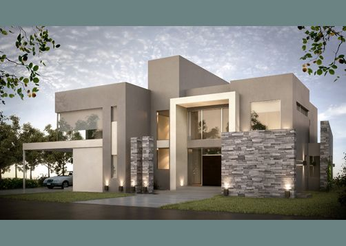Fachadas de casas im genes ideas y dise os modernos for Casas ultramodernas
