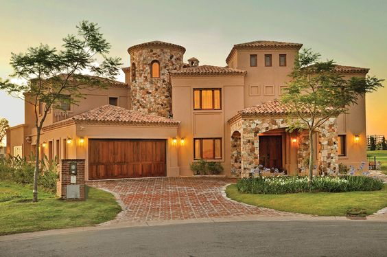 Fachadas de casas im genes ideas y dise os modernos for Frentes de casas con piedras