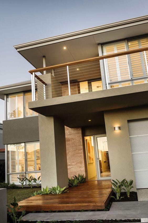 Fachadas de casas im genes ideas y dise os modernos - Ideas para fachadas exteriores ...