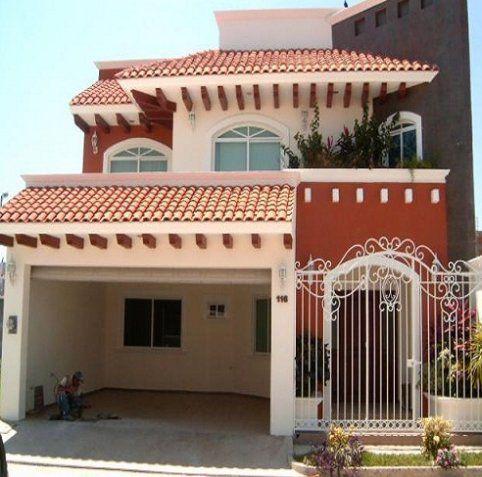 Fachadas de casas im genes ideas y dise os modernos for Fachadas de casas rojas modernas