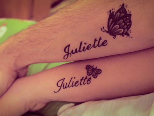 90 Tatuajes De Nombres Los Mejores Disenos Para Mujeres Y Hombres