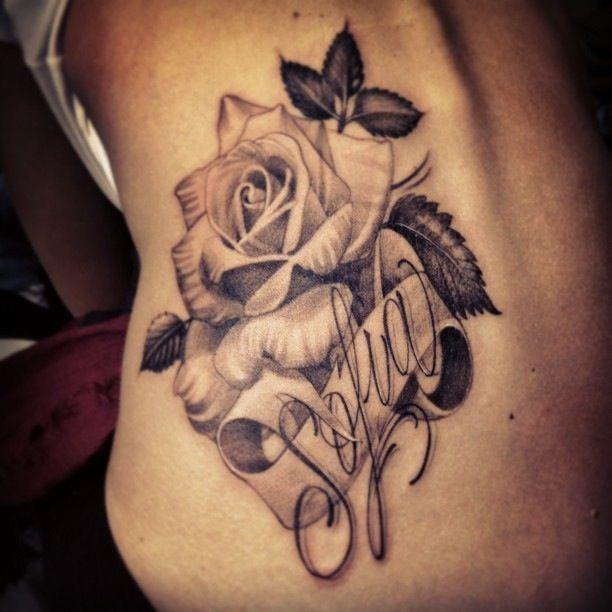 Zoey Tattoo Ideas: 90 TATUAJES De NOMBRES: Los Mejores Diseños Para Mujeres Y