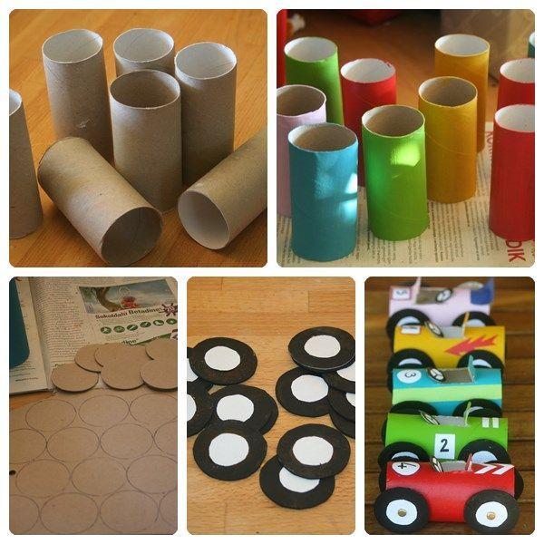 Ideas para hacer juguetes para nios con materiales reciclados