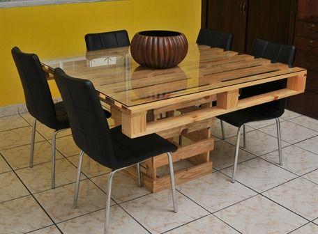 Muebles reciclados de madera con palets, ideas con diseños fabulosos