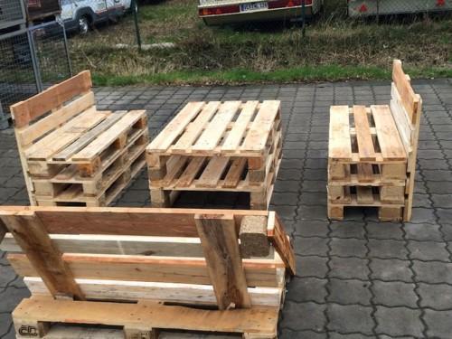 Muebles reciclados de madera con palets ideas con dise os - Trabajar con palets ...