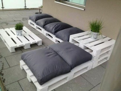 Muebles reciclados de madera con palets ideas con dise os - Muebles palets reciclados ...