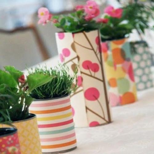 Macetas recicladas decoraci n ideas y dise os for Ideas para decorar la casa con macetas
