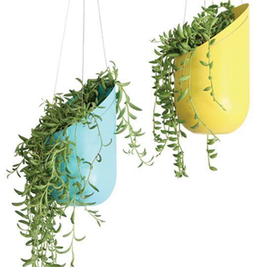 Macetas recicladas decoraci n ideas y dise os - Macetas de colgar ...