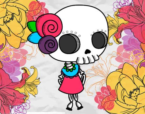 Imágenes Para Día De Muertos Dibujos Ilustraciones Y Frases