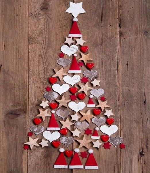Arreglos navide os 2018 tendencias 2019 for Decoraciones de navidad para hacer en casa