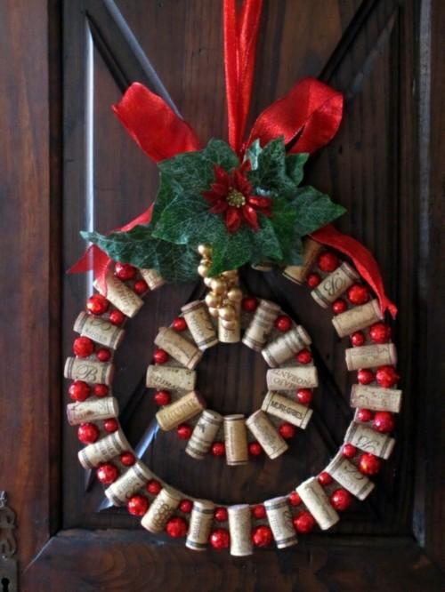 Manualidades Para Decorar Puertas En Navidad.Arreglos Navidenos Tendencias 2019 2020
