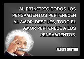 Imágenes Con Frases De Albert Einstein Sobre El Amor