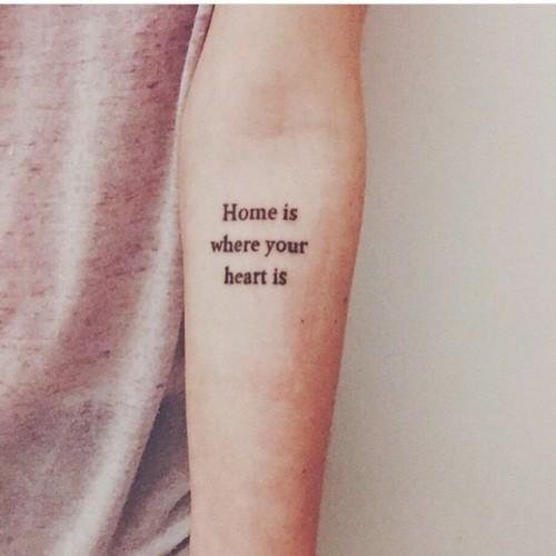 Frases Para Tatuajes Las Mejores Frases Para Tatuarse - Tatuajes-de-frases-de-amistad