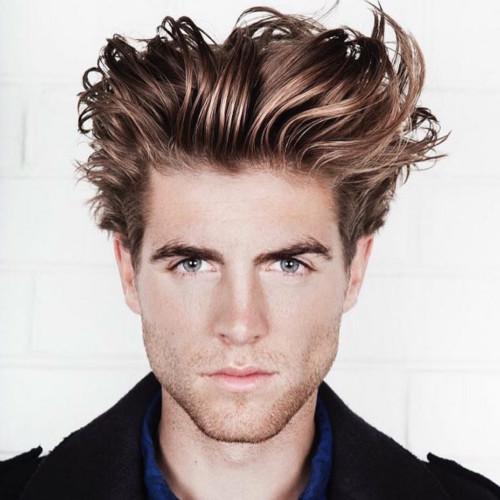 Cortes de pelo para pelo grueso hombre