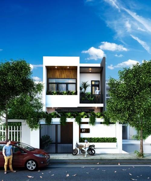 Fachadas de casas peque as y modernas que te inspiraran for Buscar casas modernas