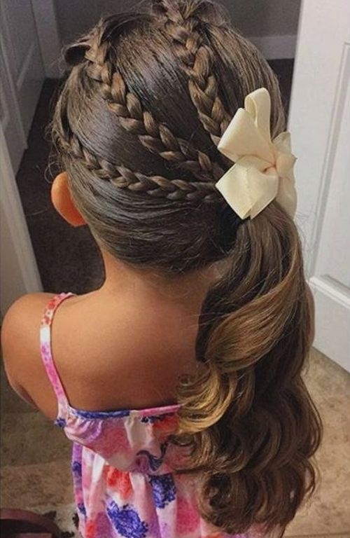 Peinados Para Ninas Muy Faciles Sencillos Y Bonitos - Peinados-para-nias-sencillos