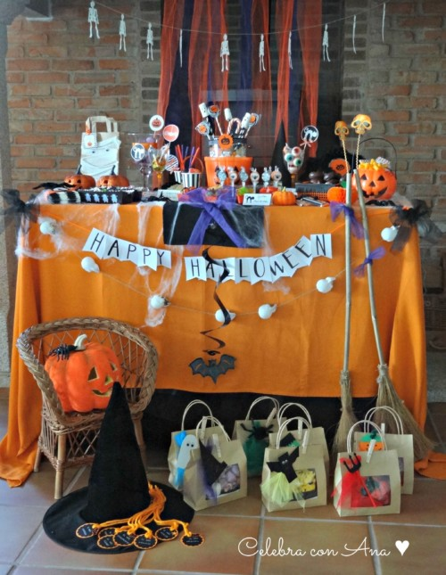 Decoraci n de cumplea os para ni os y adultos ideas 2018 - Fiesta halloween infantil ...