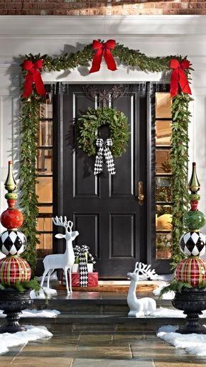 Ventanas Y Puertas Decoradas Para Navidad Las Mejores Ideas