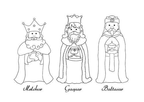 Los Tres Reyes Magos Imágenes Fotos Cartas Y Dibujos
