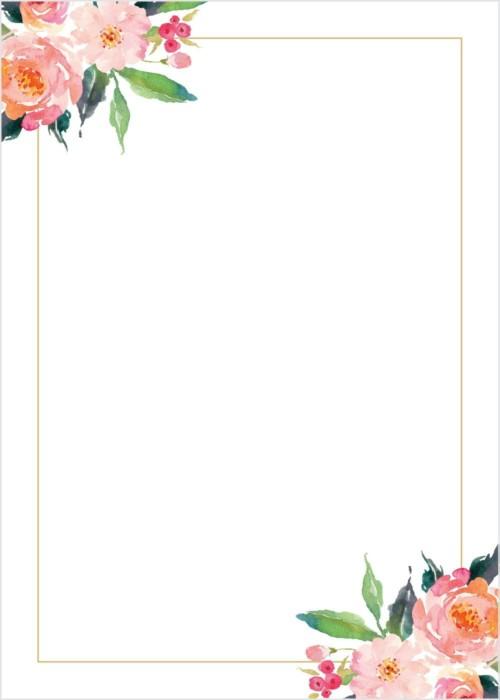 Invitaciones De Boda Gratis Para Imprimir Y Personalizar