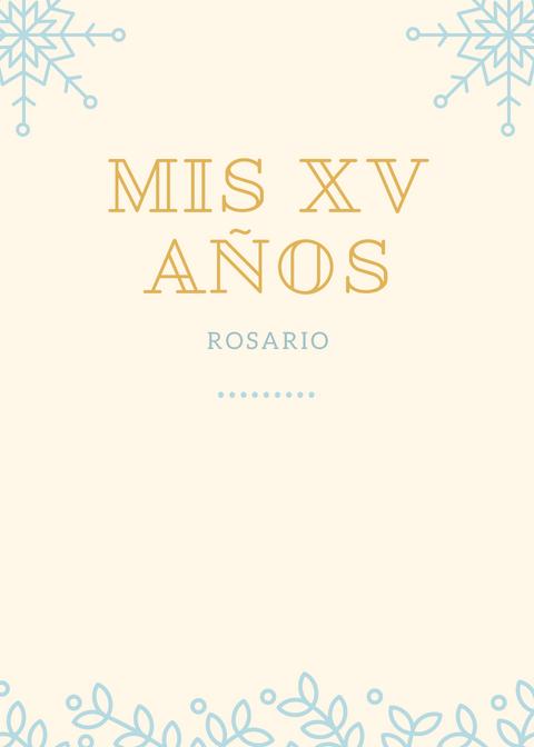 Invitaciones De Xv Años Gratis Para Imprimir Y Personalizar
