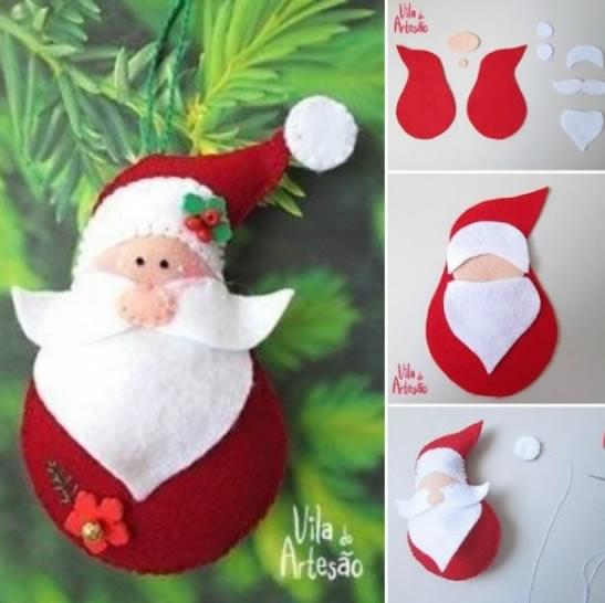 Mejores 40 Diseños Y Moldes De Papa Noel Para Navidad 2019