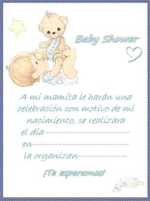 Invitaciones De Baby Shower Gratis Para Imprimir Y